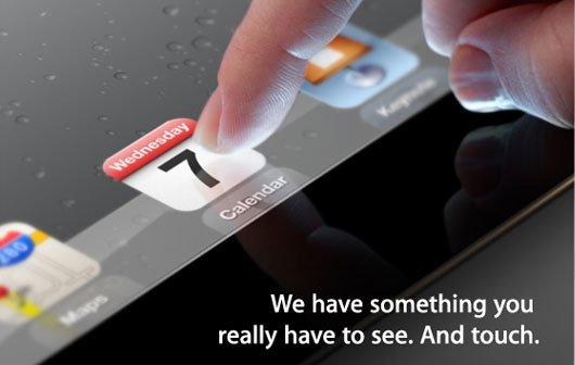 Apple lädt zum iPad-Event am 7. März