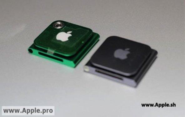 iPod nano: Ansteck-iPod erneut mit Kamera gesichtet