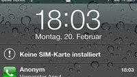 iOS 5 Sicherheitslücke: Zugriff auf Adressbuch trotz Codesperre