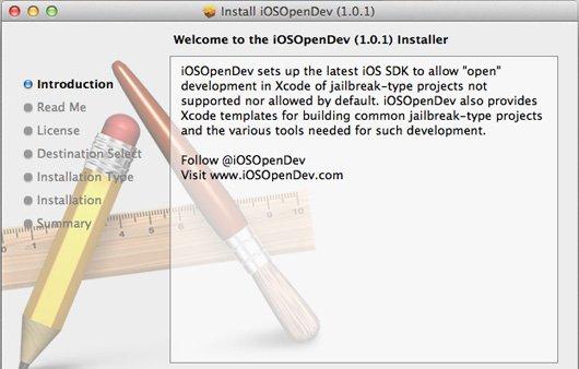 iOSOpenDev: Erste Testversionen verfügbar