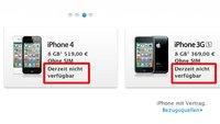 iPhone- und iPad-Verkauf teilweise gestoppt: Apple nimmt iOS-Geräte aus dem Sortiment