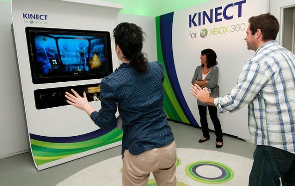 Microsoft testet Kinect an Notebooks