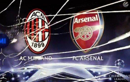 Champions League im Live-Stream: AC Mailand - FC Arsenal online sehen (Update)