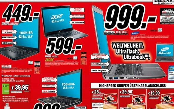Prospekt-Check: Media Markt Notebooks und PCs - KW08