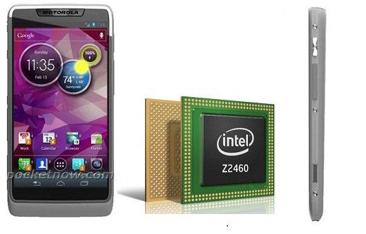 Motorola Smartphone mit Intel Medfield gesichtet