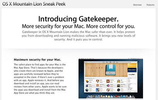Mac OS X Mountain Lion: Gatekeeper und digitale Signaturen für Mac-Apps