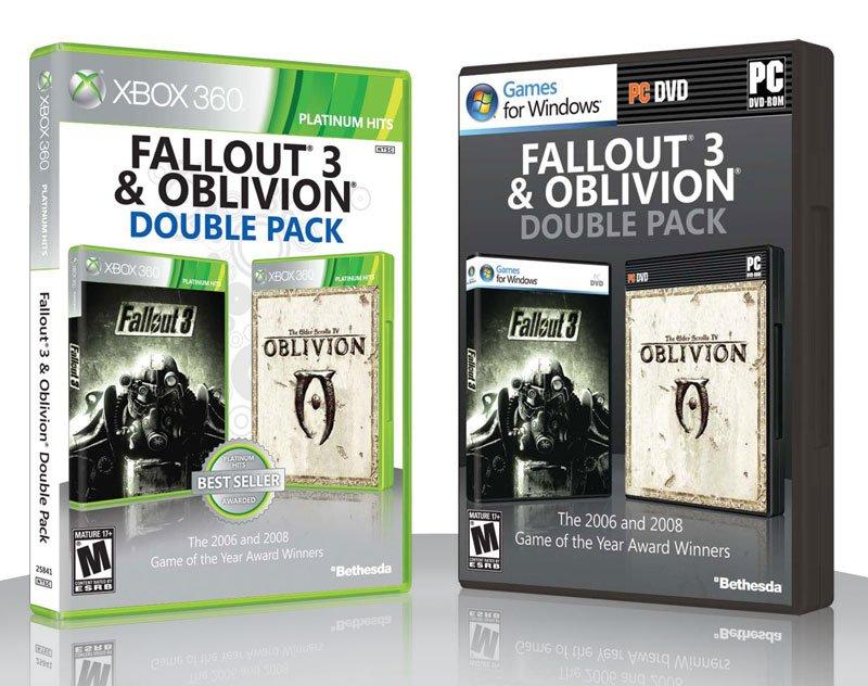 Fallout 3 &amp&#x3B; Oblivion: Double Pack kommt im April