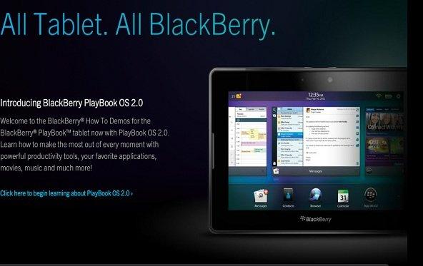 Erste Tests mit Playbook OS 2.0 und das wirkliche Geschäft von RIM