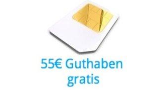 SIM-Karte von SimTim für 9,95 Euro inkl. 55 Euro Guthaben