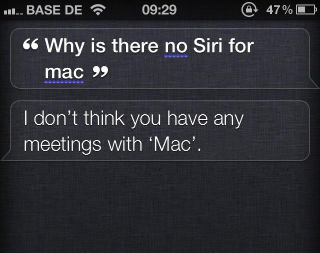 OS X Mountain Lion: Warum Siri fehlt