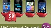 Vodafone-Aktion: 4-fach Flat für 29,95 Euro inkl. Smartphone