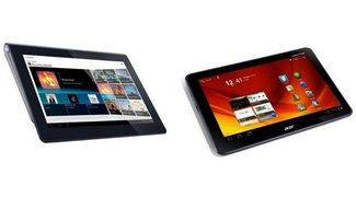 Acer Iconia Tab A200 und Sony Tablet S in den Blitzangeboten von Amazon