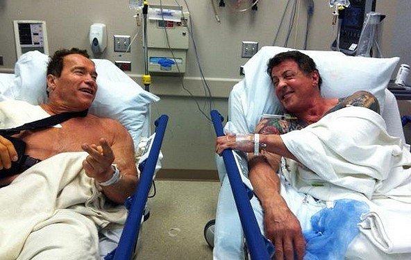 The Tomb – Sylvester Stallone und Arnold Schwarzenegger brechen zusammen aus