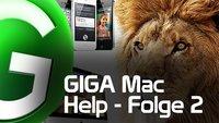 Giga Mac Help - Folge 2: Stromspartipps, Tastaturkürzel und gewischte Umlaute