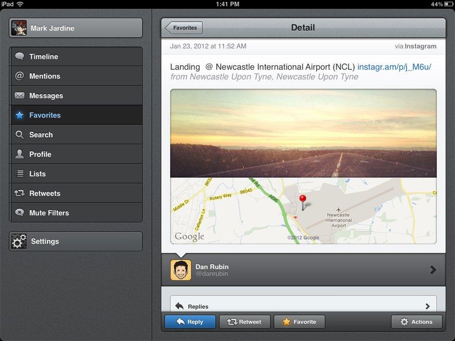 Tweetbot für iPad