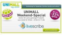 Livescribe-Aktion bei Unimall