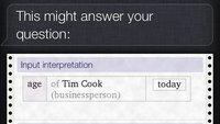 Wolfram Alpha: Ein Viertel aller Suchanfragen stammen von Siri