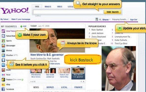 Yahoo tauscht Bostock und drei weitere Bosse aus