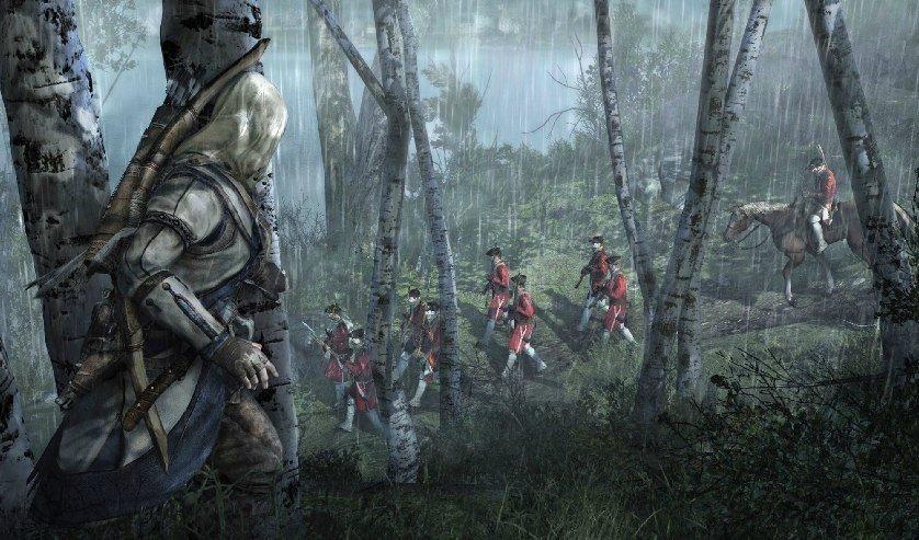 Assassin's Creed 3: Erste Screenshots aus der Gameinformer