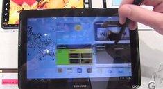 MWC 2012: Samsung Galaxy Note 10.1 Hands-On