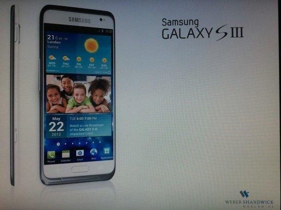 Samsung Galaxy S3: Quad-Core Prozessor unter der Haube