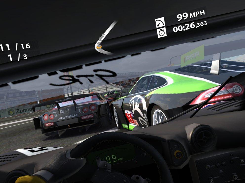 Real Racing 2 HD für iPad 3