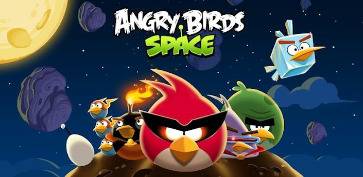Angry Birds Space - Update bringt 10 neue Level