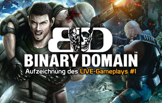 Binary Domain - LIVE Gameplay #1