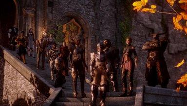 Dragon Age - Inquisition: Die Party des Inquisitors ist ein bunt zusammengewürfelter Haufen glorreicher Helden