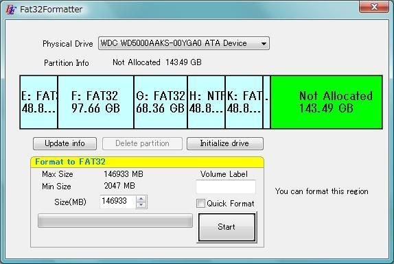 Fat32Formatter
