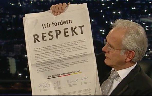 Die Harald Schmidt Show wird eingestellt - und Schmidt macht Witze darüber
