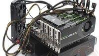 Das scheppert: Geforce GTX680 im Quad-SLi-Verbund