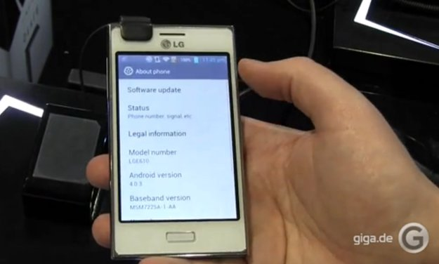 MWC 2012: LG Optimus L5 Hands-On