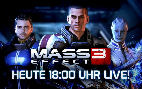 LIVE Gameplay - Mass Effect 3