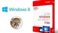 Parallels Desktop 7: Update erlaubt Installation von Mountain Lion und Windows 8 Consumer Preview