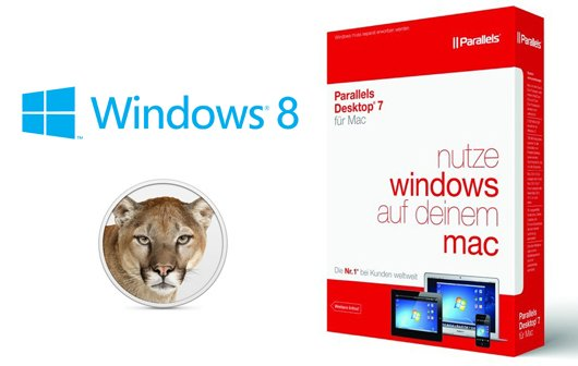 Parallels Desktop 7: Update erlaubt Installation von Mountain Lion und Windows 8 Consumer Preview
