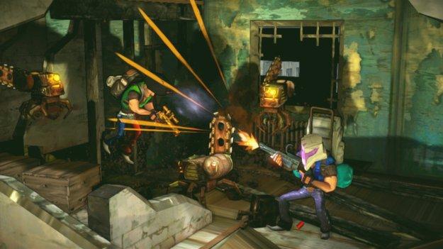 Shoot Many Robots: PC-Version kommt nächste Woche
