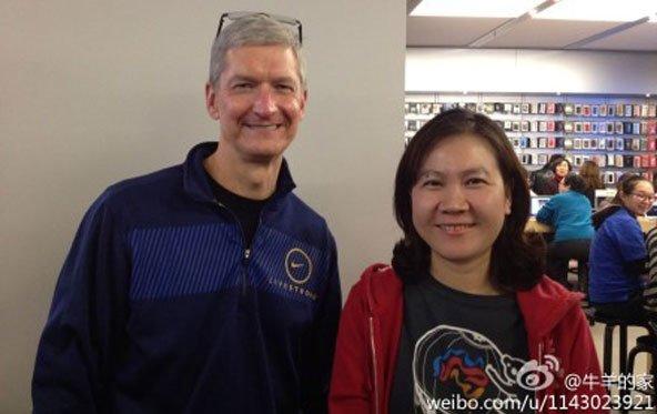 Tim Cook reist als erster Apple-CEO nach China