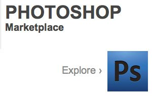 Photoshop Marketplace: Adobes virtueller Laden für Zubehör