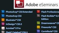 Adobe eSeminars: geballtes Wissen live