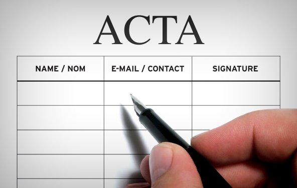ACTA - Petition an Bundestag hat 50.000 Unterschriften erreicht