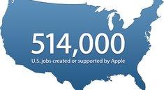 Apple will über 500.000 Arbeitsplätze in den USA geschaffen haben
