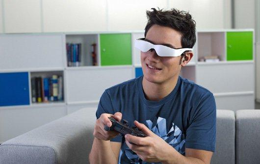 CeBIT 2012 - Carl Zeiss stellt Multimediabrille cinemizer OLED vor