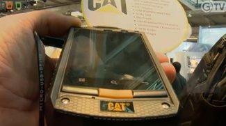 CeBIT 2012: CAT Outdoor Smartphone mit Android