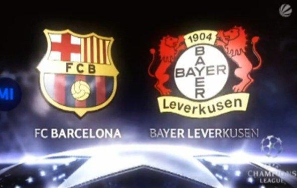 Champions League im Live-Stream: FC Barcelona - Bayer Leverkusen
