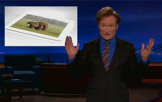 Vid of the Day: Conan O'Briens iPad Werbespot