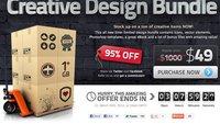 Creative Design Bundle: Vektoren, Hintergründe und Templates mit 95 Prozent Rabatt