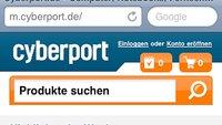Cyberport: Neuer Mobile-Shop