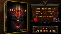 Diablo 3 Vorbesteller-Aktion: für 44,99 Euro vorbestellen und zusätzlich 5 Euro D3 Item Gutschein sichern