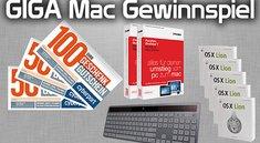 GIGA-Mac-Gewinnspiel: Tolle Preise, schwierige Fragen